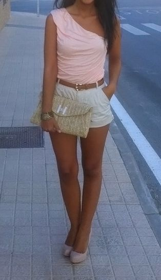 CuteSummer Outfit, Night Outfit, One Shoulder, Date Nights, Fashion Trends, Dates Night, Cute Outfit, Summer Night, Dreams Closets