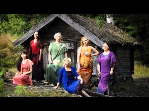 Finnish Folk Song by MeNaiset - Morsiamen Itketys (the Bride's Weeping) - YouTube