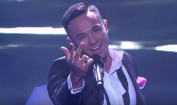 Fil-Australian singer Cyrus Villanueva has made it to The X Factor Australia 2015 Top 8. The result was revealed during the live double elimination rounds of the show on Tuesday, October 13.