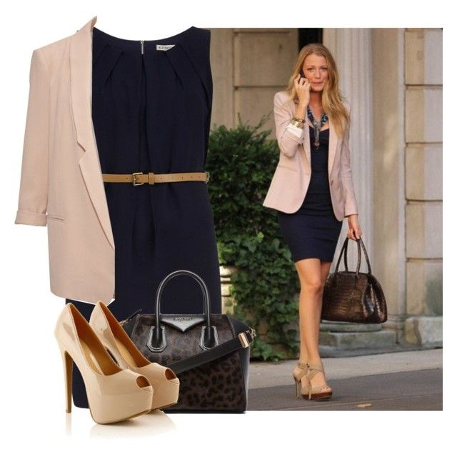 serena van der woodsen - blake lively by speaknow227 on Polyvore featuring Dorothy Perkins, French Connection and Givenchy