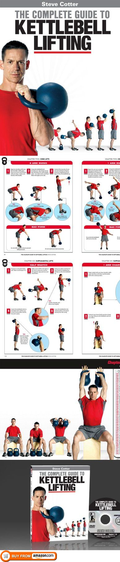 New Steve Cotter Book and DVD Combo - The Complete Guide to Kettlebell Lifting, Steve Cotter has done it again! The new Complete Guide to Kettlebell Lifting will do for Kettlebell books what his amazing Encyclopedia of Kettlebell Lifting did for Kettlebell DVDs. This book is pack..., #Sporting Goods, #Kettlebells, $79.99