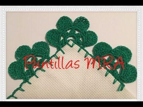 Puntilla para servilleta MRA 32