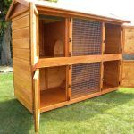 British Giant (Double) Rabbit Hutch 4..I need to find one like this in the US!