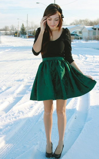 Emerald Green Skirt | My Style | Pinterest | Green Skirts Green And Floral