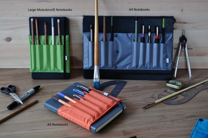 On the Creative Market Blog - Keep Your Pens and Pencils Cozy with a Penroll
