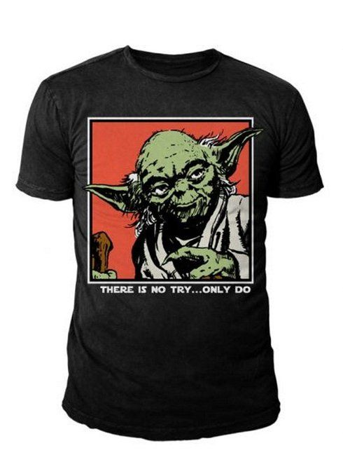 010-Camiseta Star Wars - Yoda Fuck