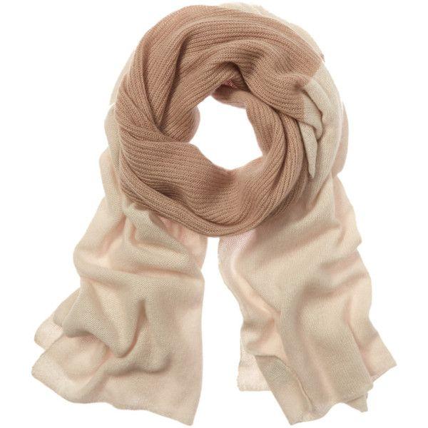 Portolano Cashmere Scarf ($100) ❤ liked on Polyvore featuring accessories, scarves, nocolor, portolano, print scarves, portolano scarves, cashmere shawl and ivory shawl