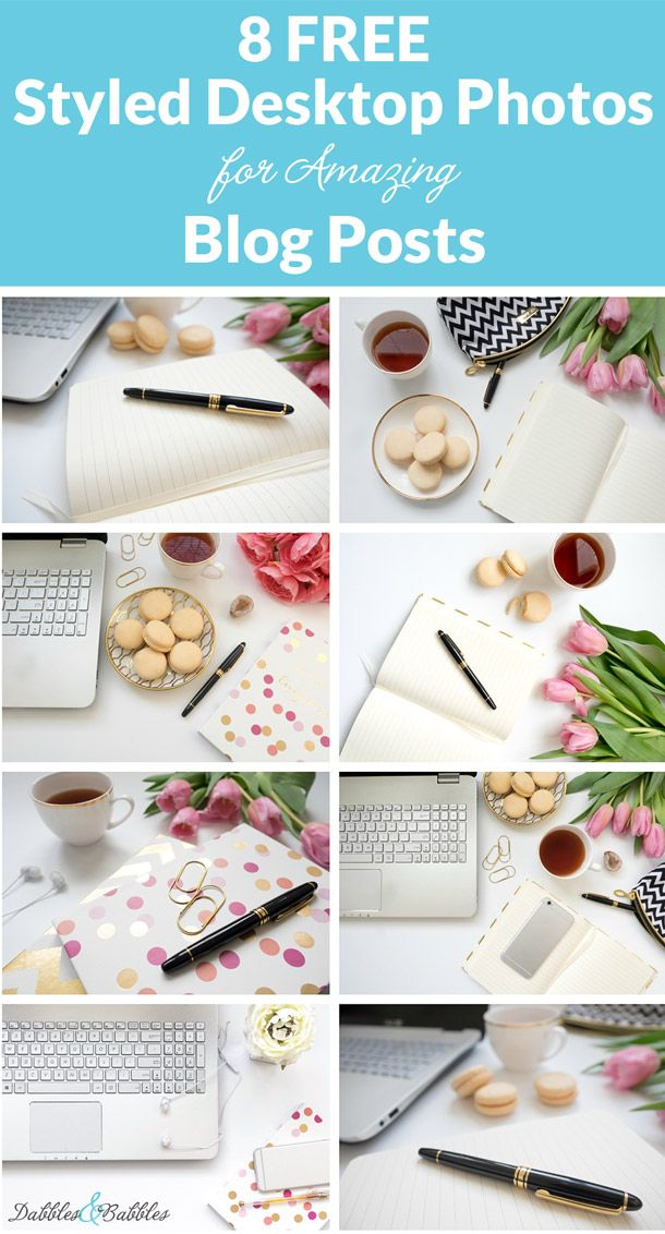8 Free Styled Desktop Photos for Amazing Blog Posts. Good images are a key part of putting together a great website, blog, Instagram or small business. But finding images to use can sometimes be difficult. Download these 8 Free photos for professional feminine looking promo material now. Click to download your free photos.