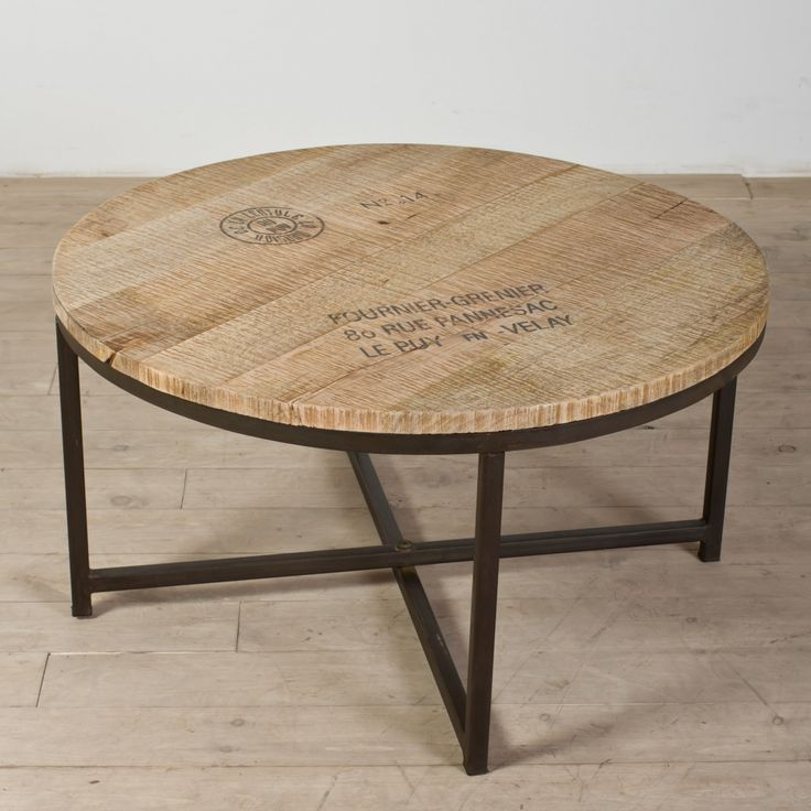 Round Glass Coffee Table Wood Base   Living Room Tables Set Check More At  Http: Part 33