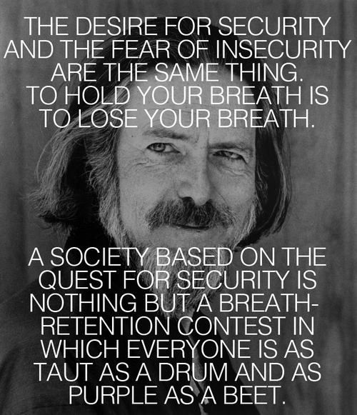 """""""To hold your breath is to lose your breath"""" -Alan Watts... This sunk in when I took the advise of a wise instructor."""