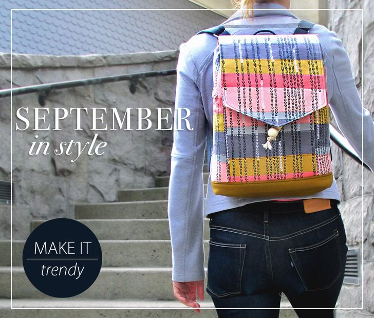 Trendy Drawcord Backpack   Sew4Home