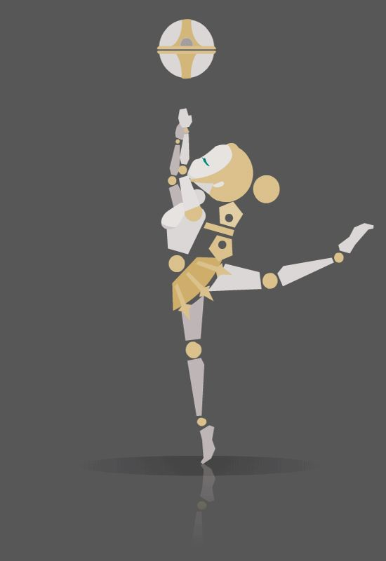 Orianna fan art League of Legends 英雄聯盟 奧利安娜 球女 オリアナ gif Animation Action design Motion Graphic Illustration Animated Gif Loop --2016.09.11 made by zuchrou
