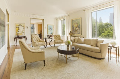 grand living room: New York Cities, Beautiful View, Living Rooms Design, Gardens Design Ideas, Fifth Avenu, Real Estates, 5Th Avenu, Design Home, International Realty