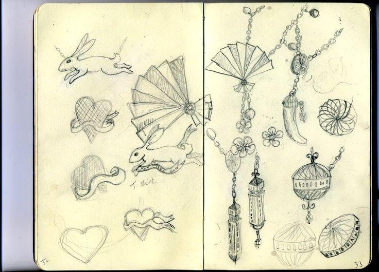 jewellery sketch book