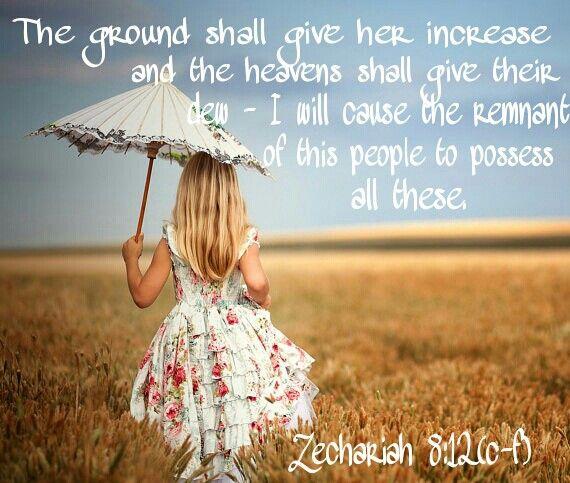Zechariah 8:12(c-f)