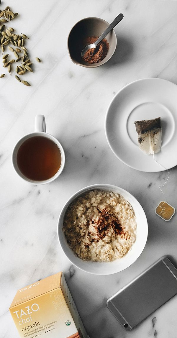 Imagine the sweetness of ground cinnamon and the citrusy spice of cardamom coming together to shake up your morning routine. That's where #SweetMeetsSpicy with Tazo® Organic Chai. bit.ly/1LFmJ8Q