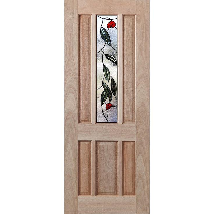 Woodcraft Doors 2040 x 820 x 40mm Hamlett Entrance Door