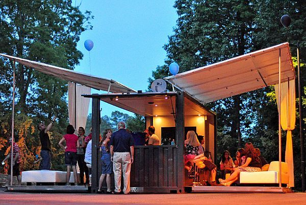 Boxman Studios Party Lounge Repurposing Shipping Containers For Fun & Profit: Interview With Boxman Studios