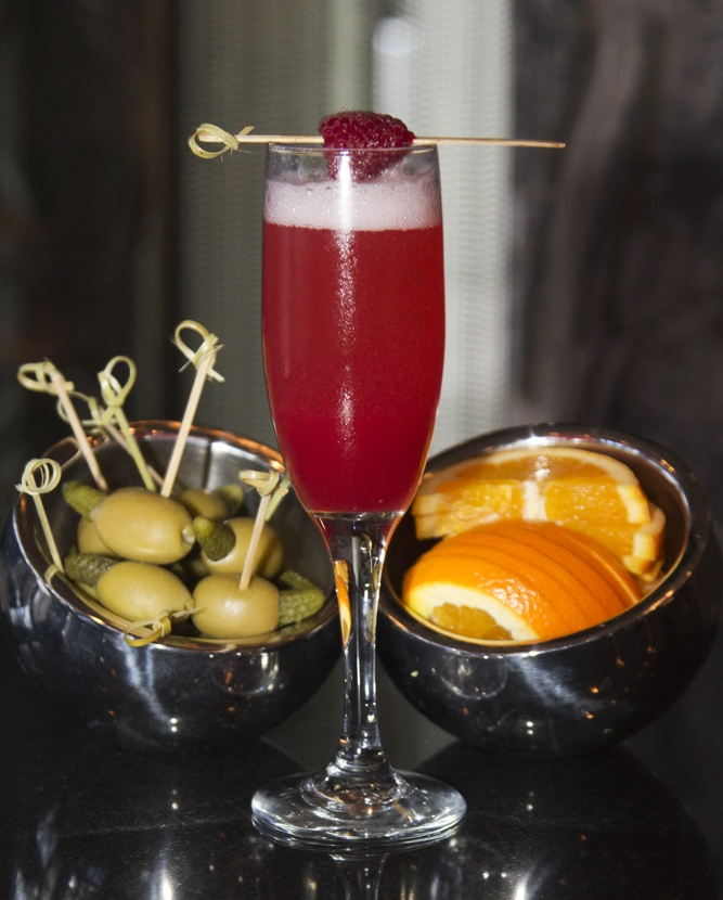 Start Your Morning Off Right With A Rasparose In Living Room Bar At W South Beach