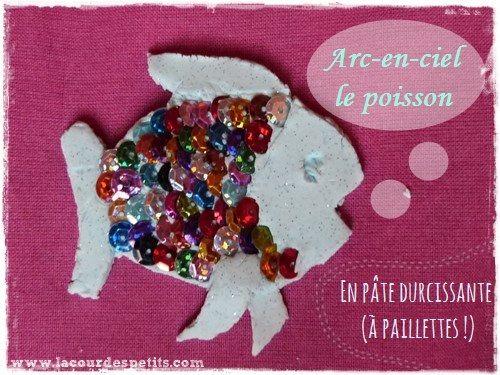 1000 images about arc en ciel le plus beau poisson des for Paillette poisson