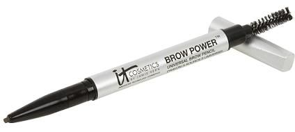 Brow Power Universal Eyebrow Pencil - Amazing! Adapts to any brow color, depending on how firm or soft you press. For every one sold, IT Cosmetics donates one to the American Cancer society's Look Good...Feel Better program, helping women going through cancer feel good about themselves! #givingback