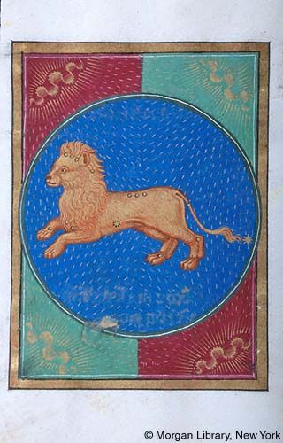Book of Hours, MS G.14 fol. 10v - Images from Medieval and Renaissance Manuscripts - The Morgan Library & Museum