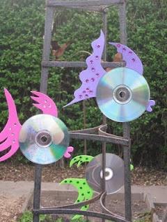 Fishy CD Bird Scarers.