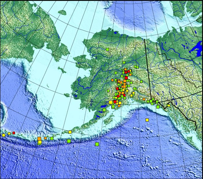 12 best Images - Earthquakes images on Pinterest Tsunami waves - best of world map with alaska and hawaii