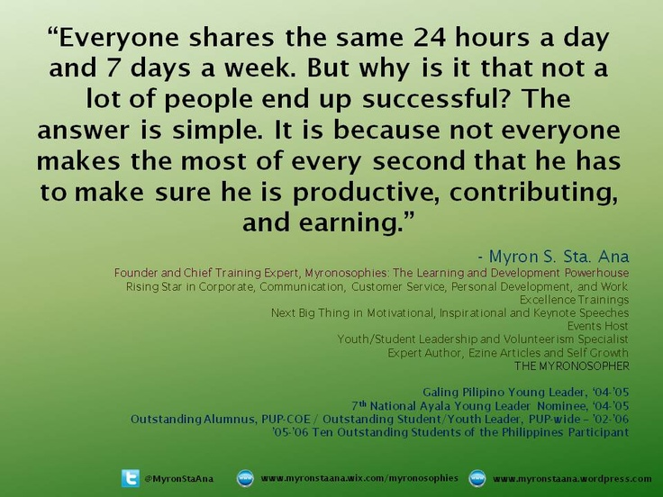 86 Best Myron Sta. Ana's Own Life Quotations Images On