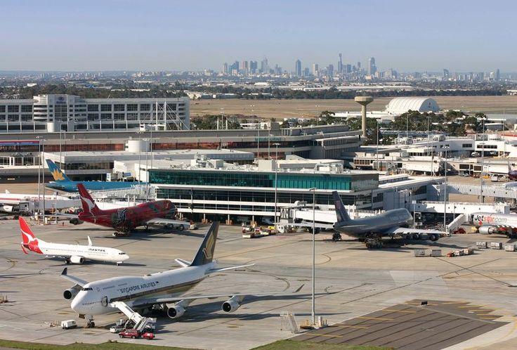 Melbourne Airport, Australia.