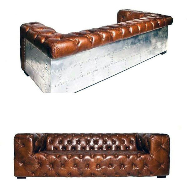 Man Cave Furniture Design Ideas Classic Brown Couches