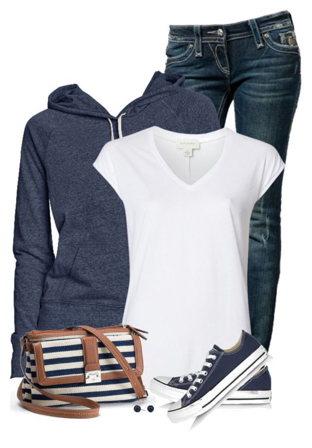 """""""Tomboy"""" by daiscat ❤ liked on Polyvore featuring Rock Revival, Old Navy, Witchery, Chaps, Converse and Betty Jackson"""