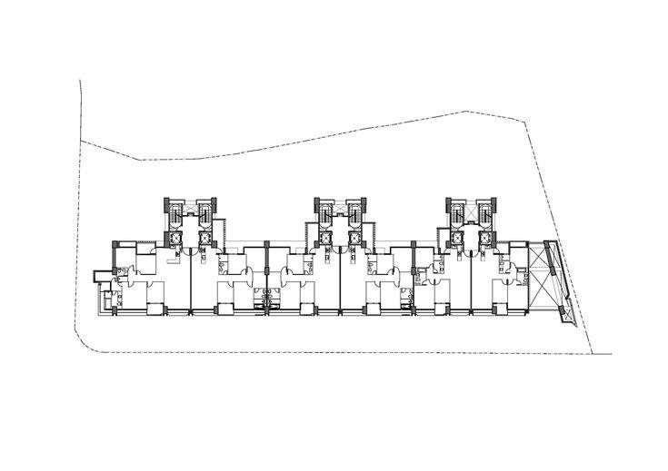 Imagen 1 de 34 de la galería de Edificio de Viviendas en Taipei / Chin Architects. Planta 03
