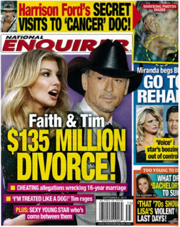 Tim McGraw, Faith Hill Divorce RUMORS TRUE: Gay Sex Scandal Rocks Country Singers Marriage? Former Bandmate Reveals In Tell-All Book