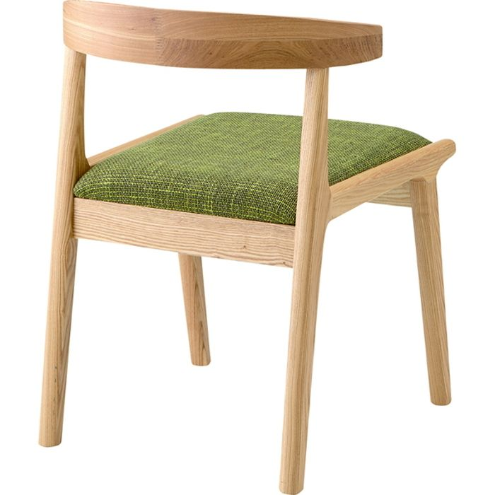 【楽天市場】ヘンリー ダイニングチェア グリーン az-hoc-541grダイニングチェア ダイニング 食卓椅子 chair isu 回転 肘付 セット 木製 無垢 イス いす イス オフィス デスクチェア:家具・インテリアのジェンコ