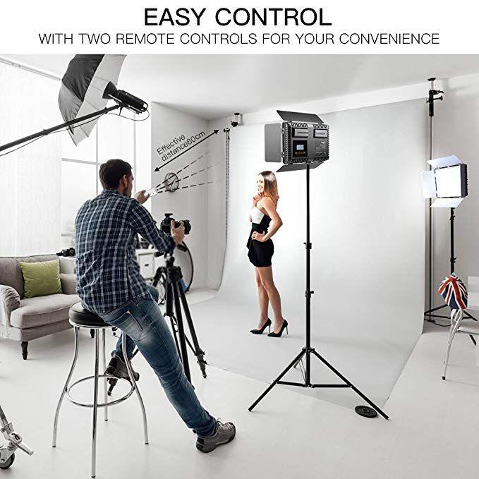 samtian led video light 600 led camera