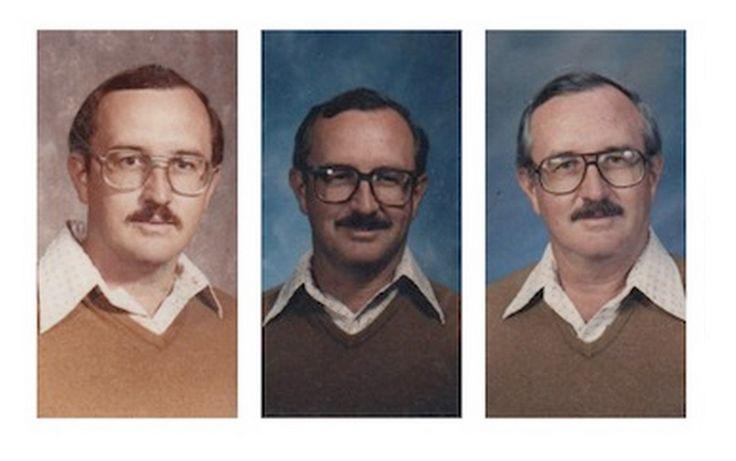 Professor usa a mesma roupa há 40 anos para tirar fotos