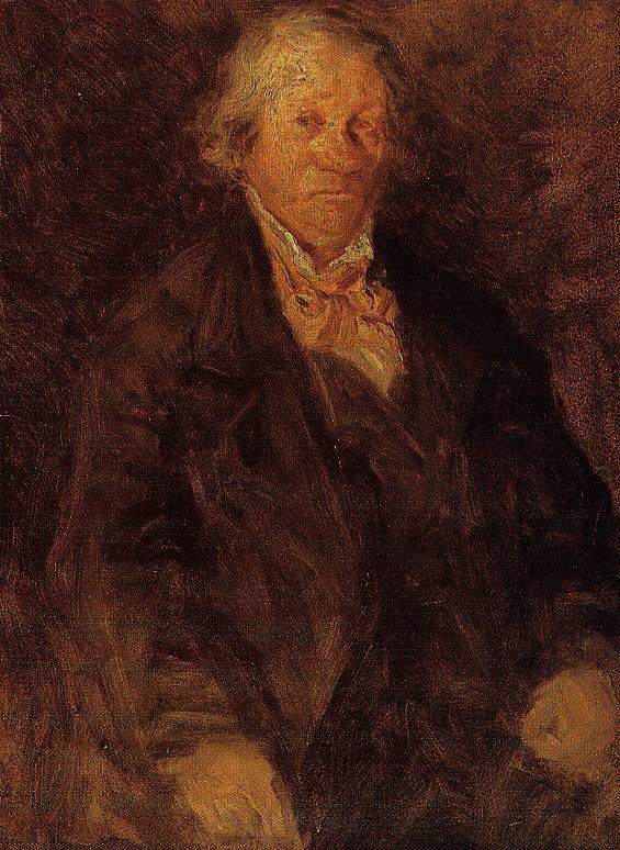 Portrait of the Artist's Father (Leonard-Sebastien Boudin), 1850 Eugene Boudin