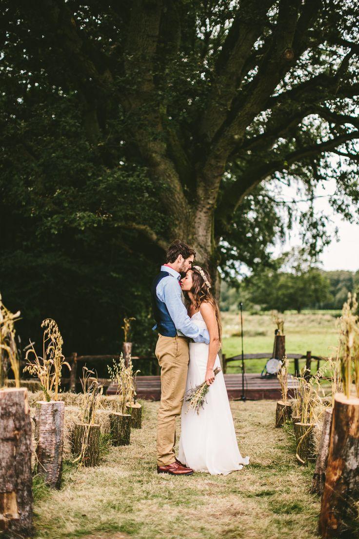 Nachhaltig 'grüne' Hochzeit mit rustikalem Flair und Tipps für eine umweltfreundliche Feier | Hochzeitsblog - The Little Wedding Corner