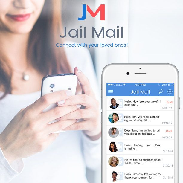 Jail Mail is the easiest way to stay in touch with inmates.