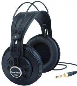 Samson SR850 Open Back Headphones http://ehomerecordingstudio.com/open-back-studio-headphones/