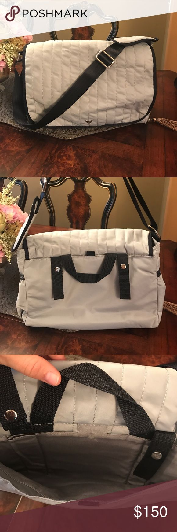 Authentic Armani diaper bag Washed and in great condition Armani Junior Accessories Bags