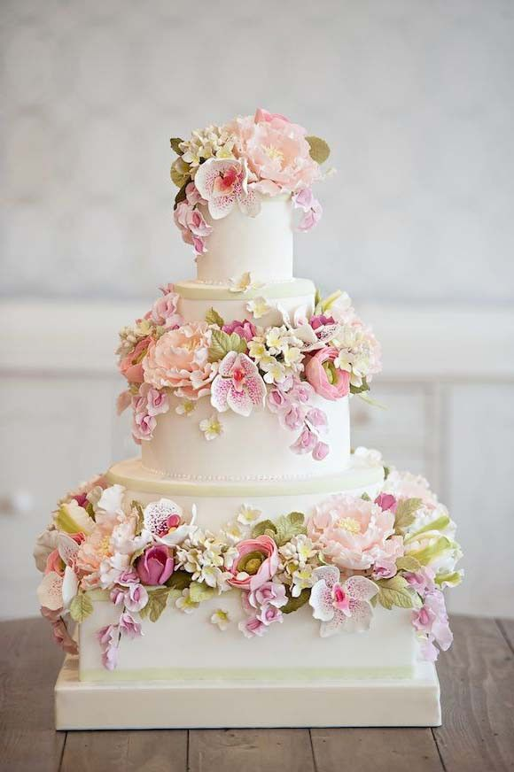 amazing wedding cakes with flowers 470 best images about garden cakes on gardens 10736