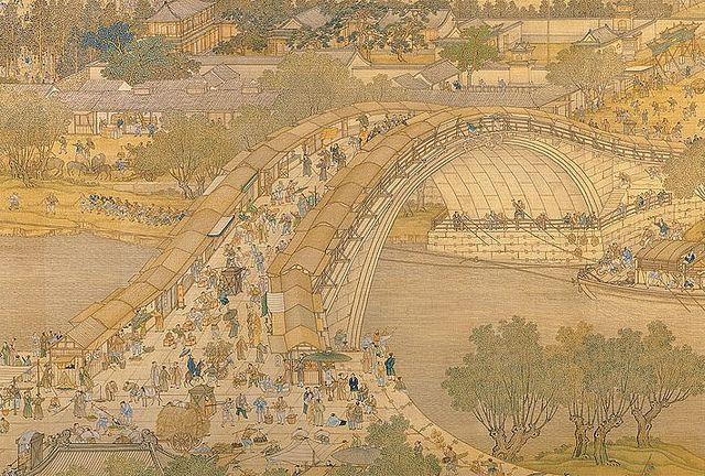 清院本-清明上河圖局部 by China Online Museum - Chinese Art Galleries, via Flickr