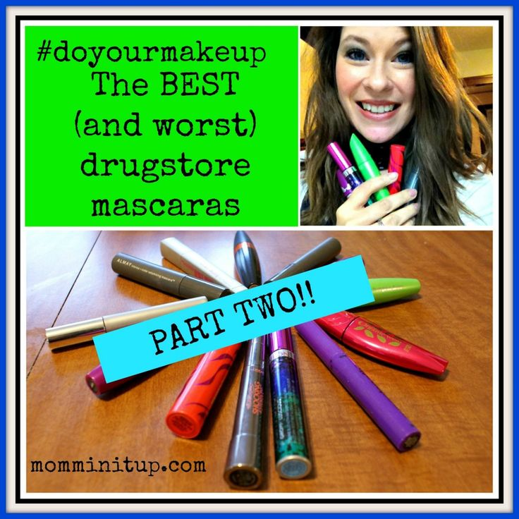 Best and worst Drugstore Mascara review part 2! Did all the work for you wo you know which ones to buy and which ones not to waste money on.