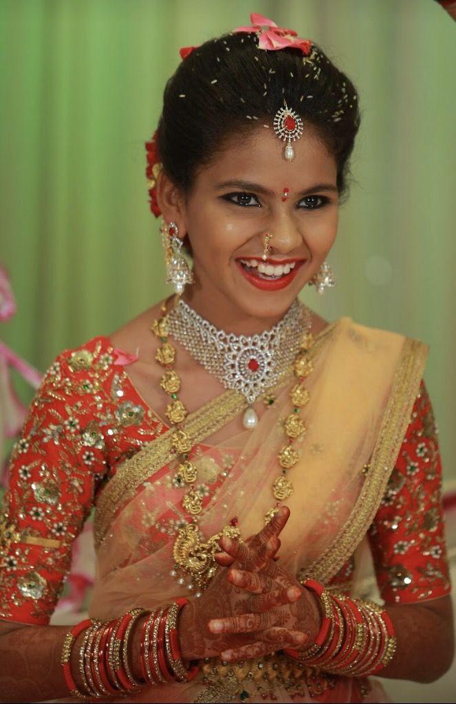 Bhavana Half Saree Function
