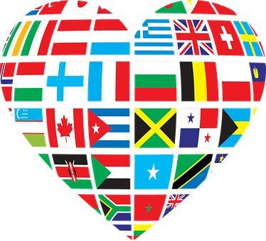 Együttműködés, Országok, Zászlók