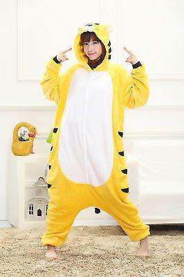 Adult kigurumi women mens onesie Pajamas Cosplay Costume Animal Onesie Size S