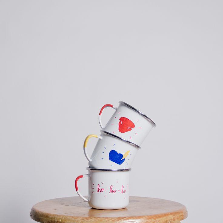 Bonjour! Introducing C'est ça, a brand new handcrafted goods for daily human needs. Inspiré de notre tranche de vie #cestca #enamelmug #enamelware #handcraft #handmade #christmas #gift #giftideas