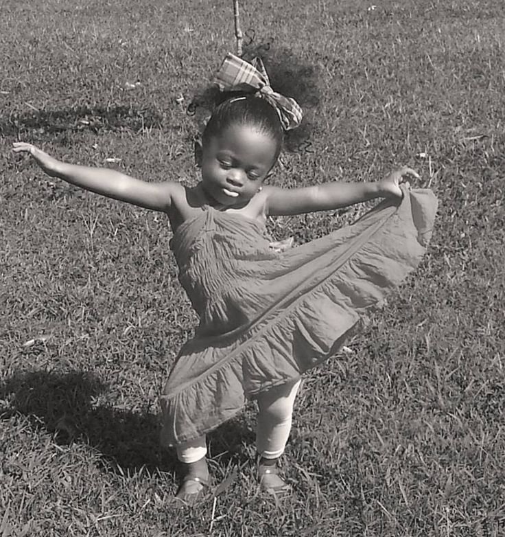 I love how this beautiful little girl is so lost in the moment. #Flow #Dance #Life